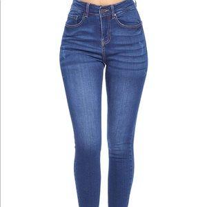 0614 Women's Butt-Lifting Skinny Jeans